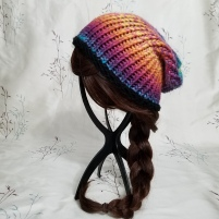 Glorious Gradient Slouch Beanie
