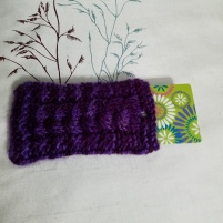 Profoundly Purple Gift Card Pouch